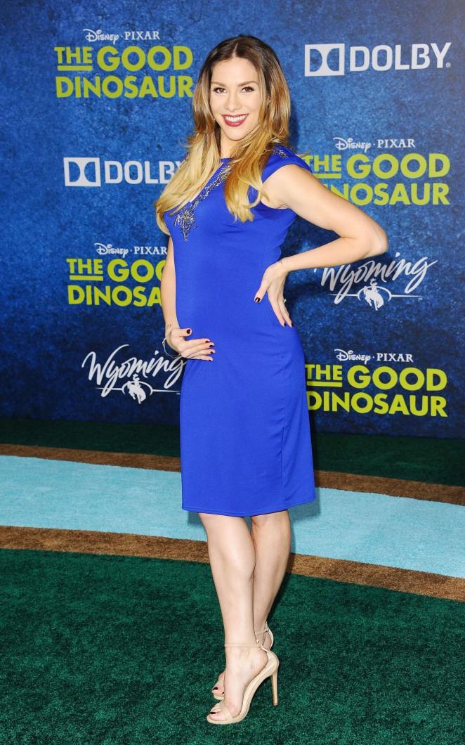 Allison Holker: The Good Dinosaur Premiere -13