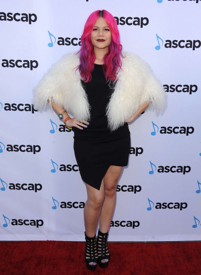 Allison Iraheta: 33rd Annual ASCAP Pop Music Awards -01