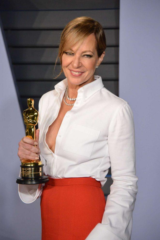 Allison Janney - 2018 Vanity Fair Oscar Party in Hollywood