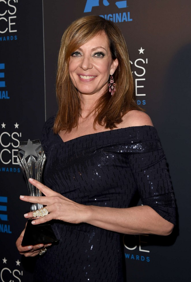 Allison Janney - 2015 Critics Choice Television Awards in Beverly Hills