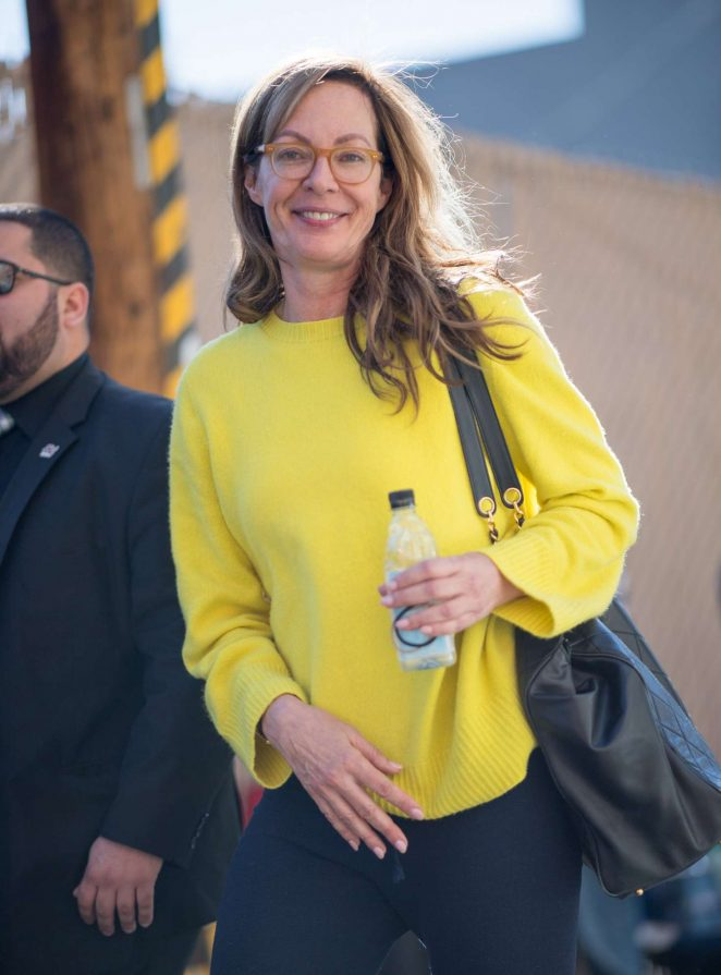 Allison Janney - Arriving at Jimmy Kimmel Live! in LA