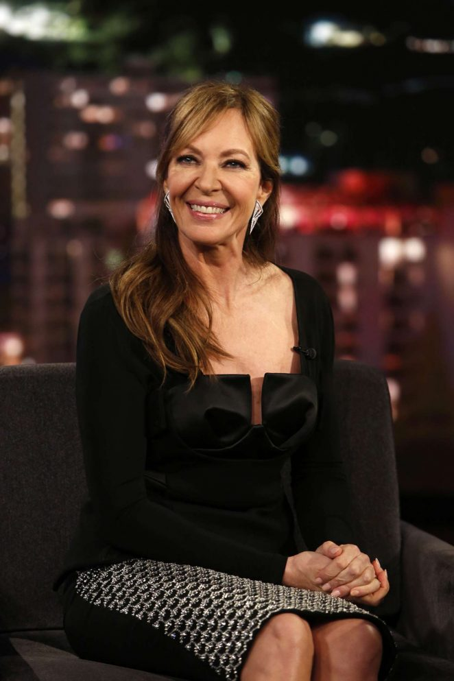 Allison Janney at Jimmy Kimmel Live! in Los Angeles