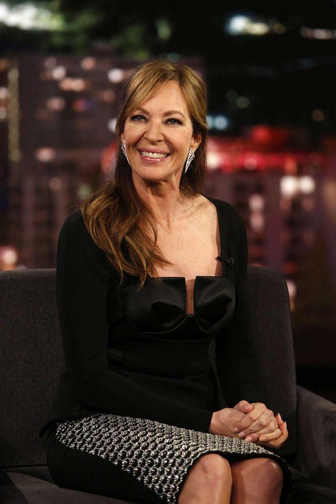 Allison Janney at Jimmy Kimmel Live! in Los Angeles