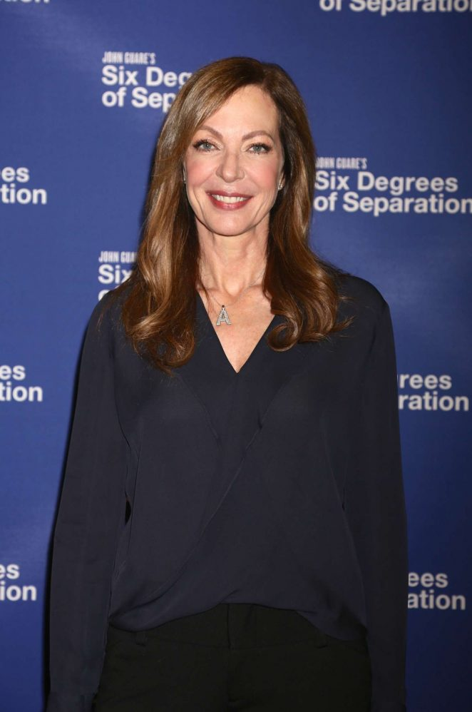 Allison Janney - 'Six Degrees of Separation' Broadway Photocall in NY