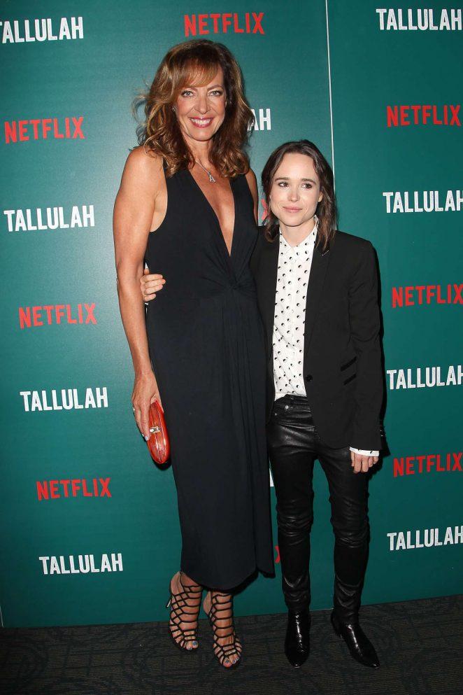 Allison Janney: Tallulah NY Screening -02