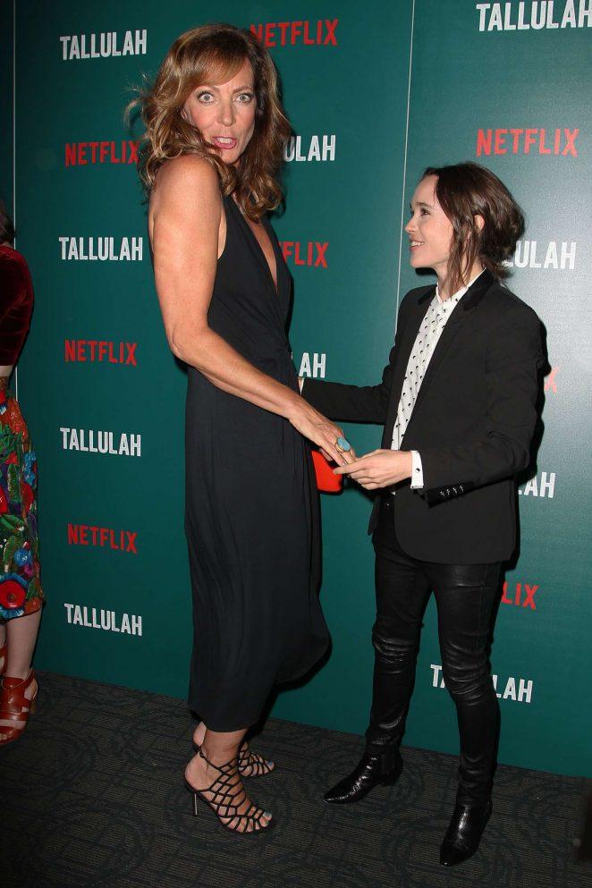 Allison Janney: Tallulah NY Screening -03