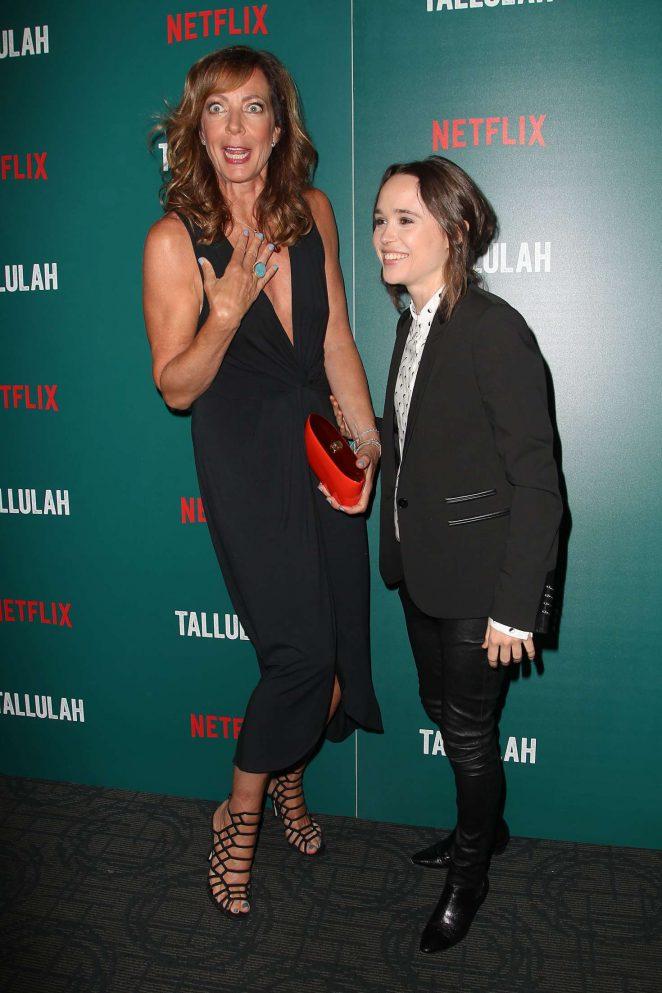 Allison Janney: Tallulah NY Screening -11