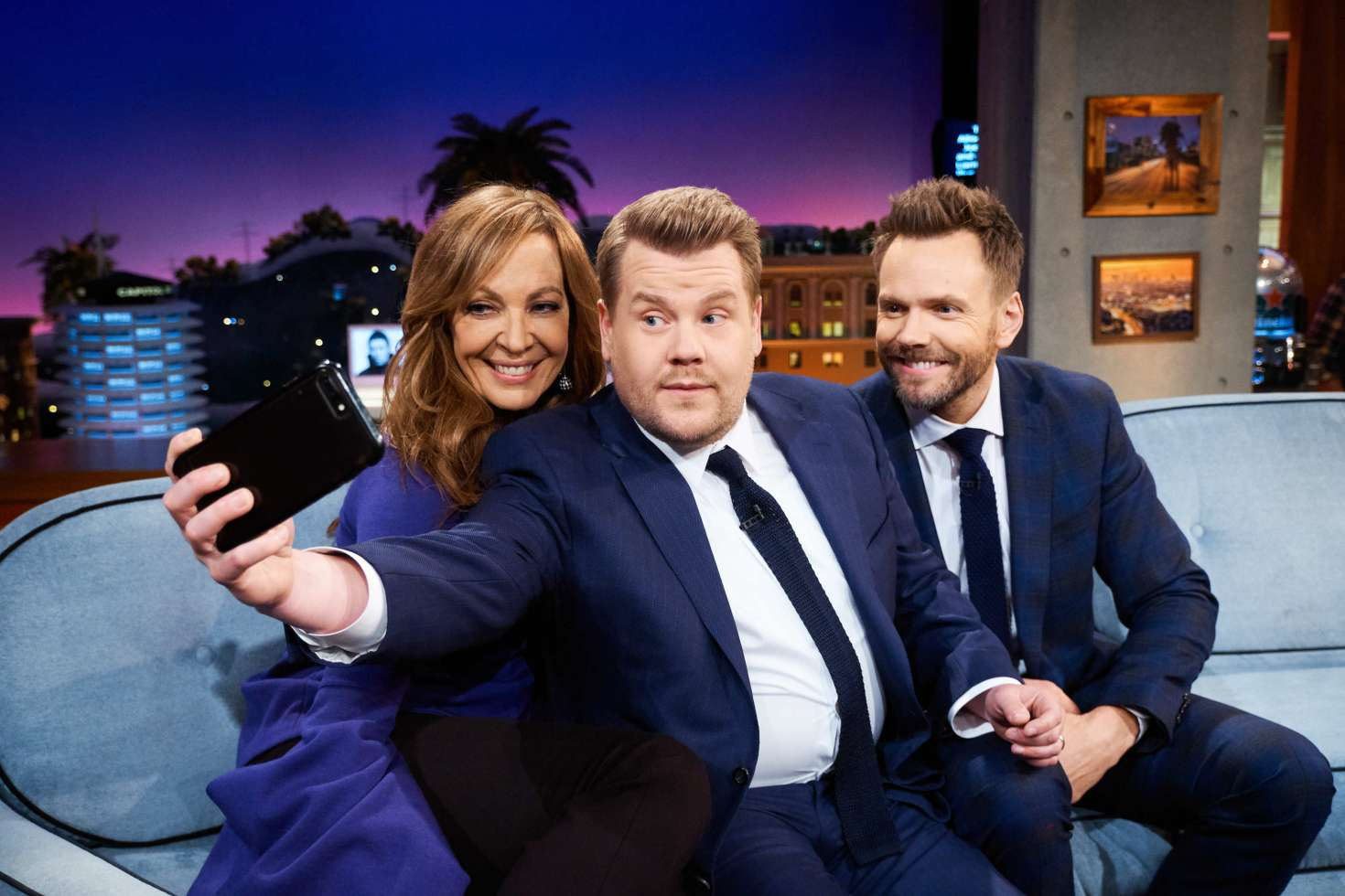Allison Janney 2018 : Allison Janney: The Late Late Show with James Corden -03