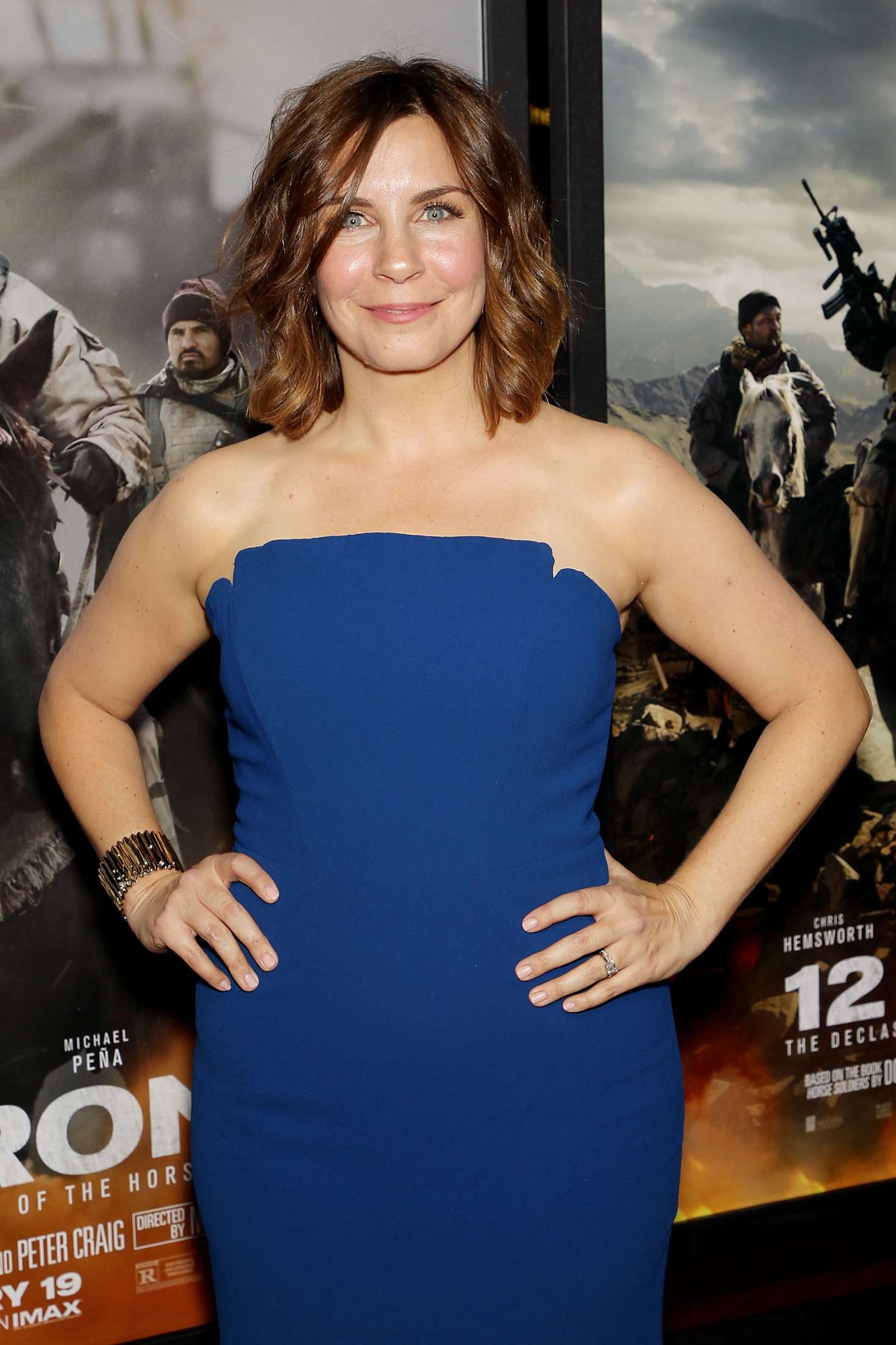 Allison King - '12 Strong' Premiere in New York