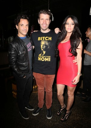Allison Melnick at Perez Hilton 38th Birthday in West Hollywood