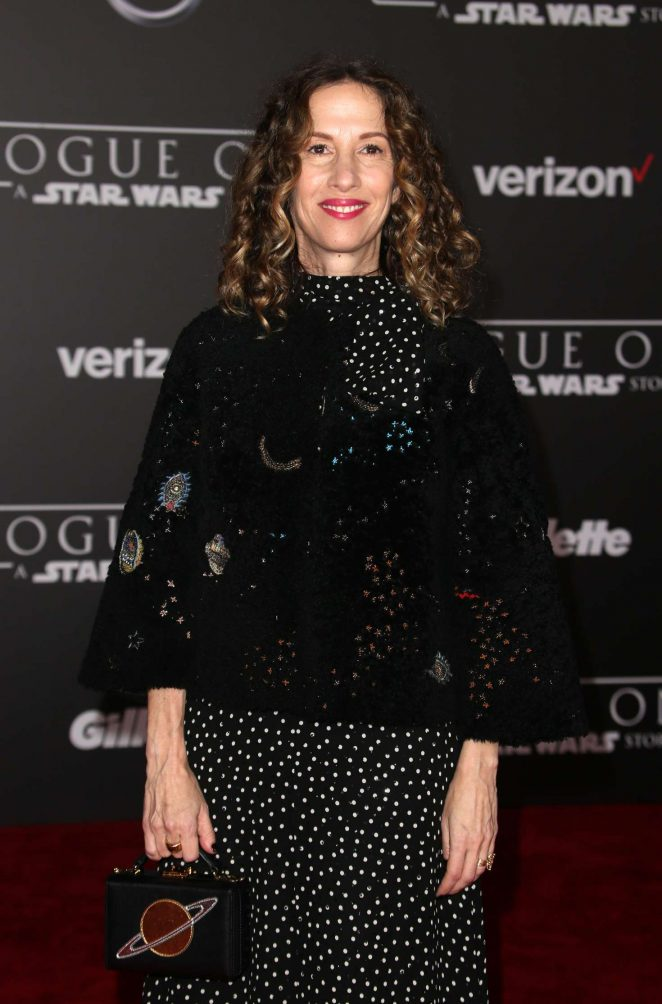 Allison Shearmur - 'Star Wars Rouge One' Premiere in Hollywood