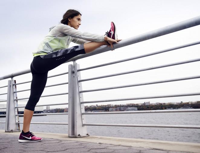 Allison Stokke - Nike Women's Photoshoot (Spring/Summer 2015)