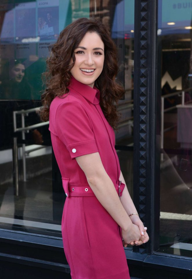 Allison Strong at AOL BUILD Series in NYC