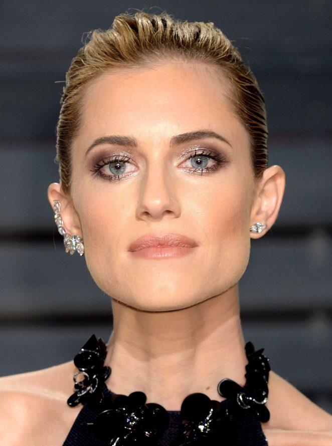 Allison Williams: 2017 Vanity Fair Oscar Party -04