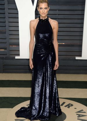 Allison Williams - 2017 Vanity Fair Oscar Party in Hollywood