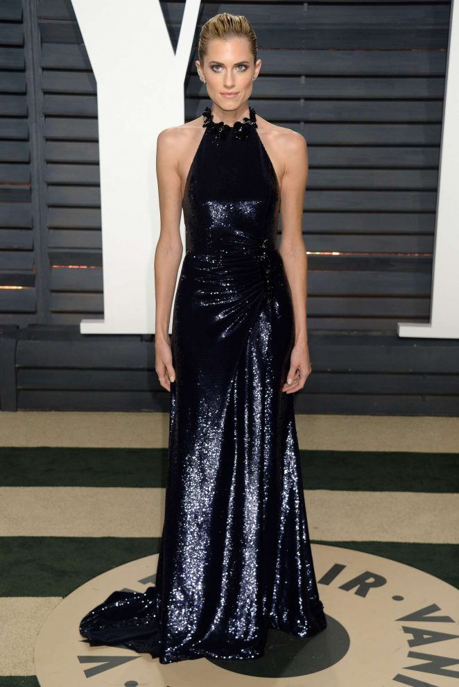 Allison Williams: 2017 Vanity Fair Oscar Party -08