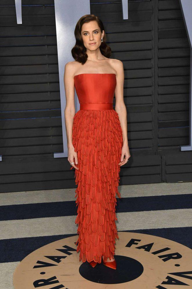 Allison Williams - 2018 Vanity Fair Oscar Party in Hollywood