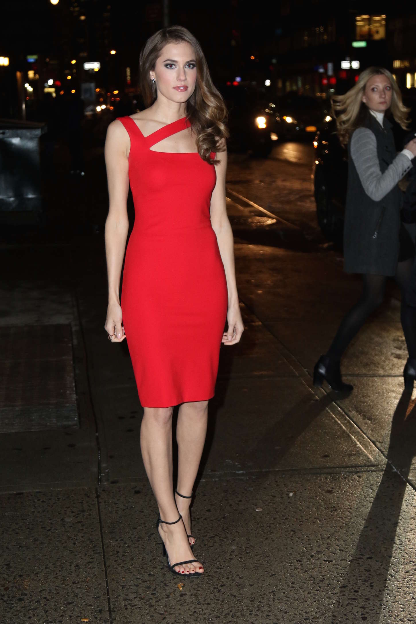 allison williams stephen colbert dress