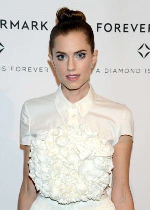 Allison Williams - Forevermark 'A Diamond Is Forever' Celebration in NYC