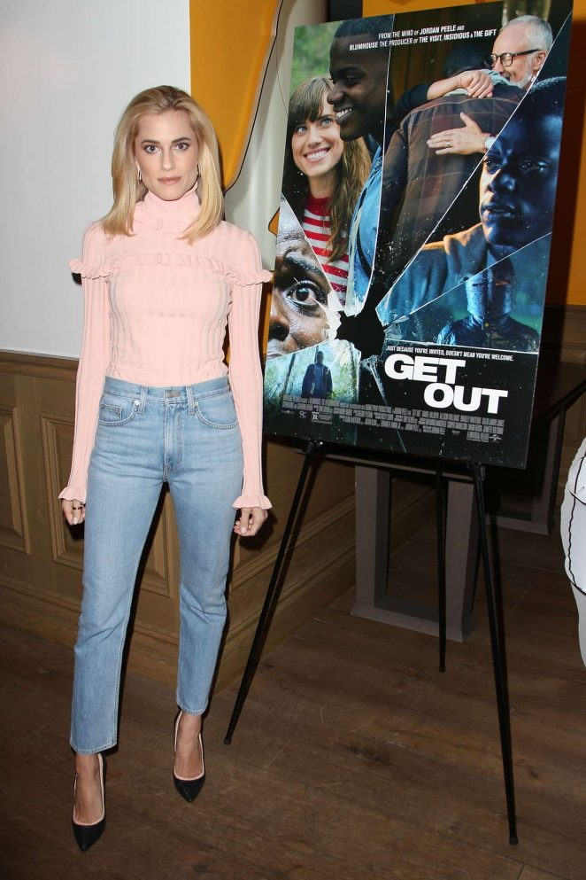 Allison Williams: Get Out Special Screening -17