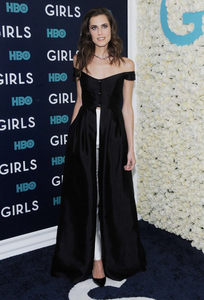 Allison Williams - 'Girls' Final Season Premiere in New York City