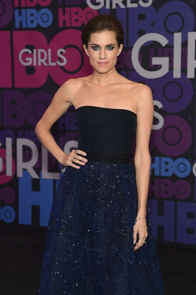 "Allison Williams – ""Girls"" Season 4 Premiere in NYC"