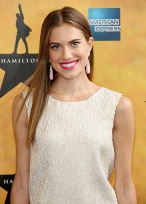 Allison Williams - 'Hamilton' Broadway Opening Night in NYC