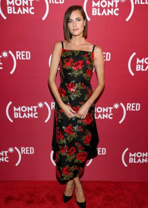 Allison Williams - Montblanc x (RED) Launch Event in NY
