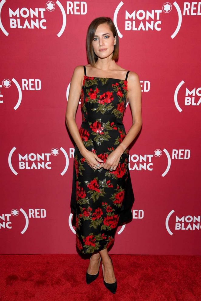 Allison Williams – Montblanc x (RED) Launch Event in NY