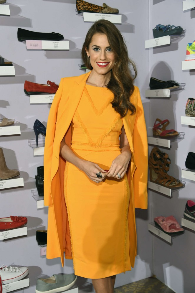 Allison Williams - QVC Presents 'FFANY Shoes on Sale' in New York City