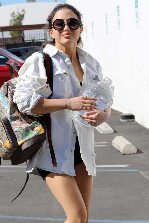 Ally Brooke - Arrives at DWTS Studio in LA