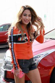 Ally Brooke - Arriving at the DWYS Dance Studio in LA