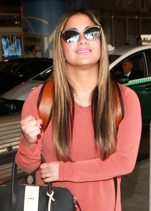 Ally Brooke - LAX Airport in Los Angeles