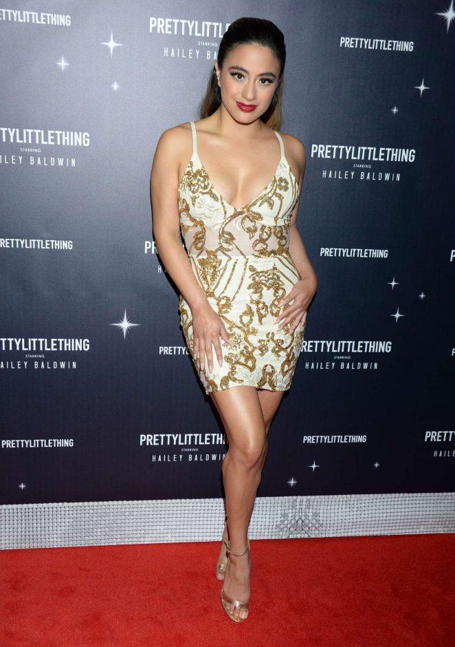 Ally Brooke - PrettyLittleThing x Hailey Baldwin Launch Event in LA