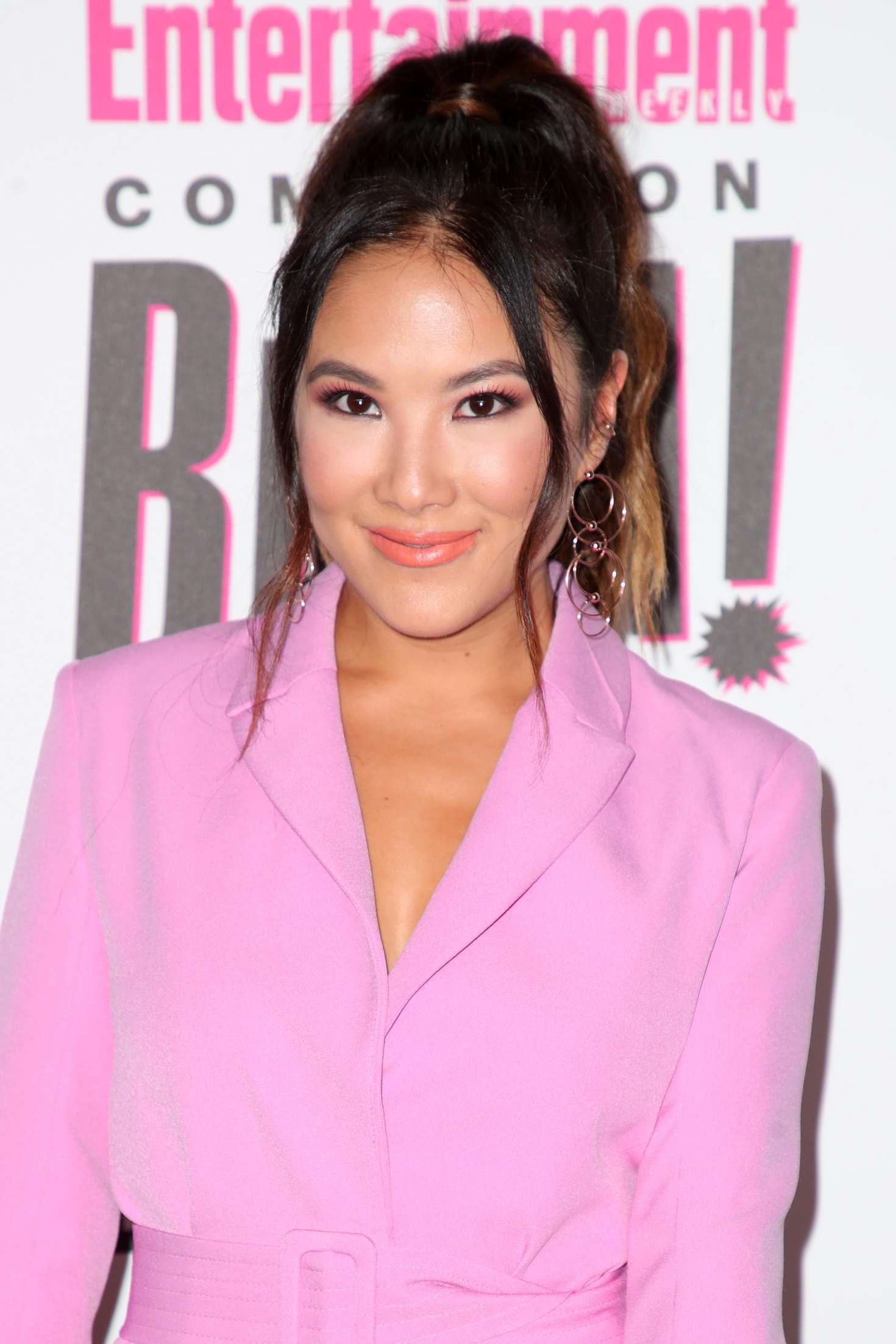 Ally Maki 2018 : Ally Maki: 2018 Entertainment Weekly Comic-Con Party -01