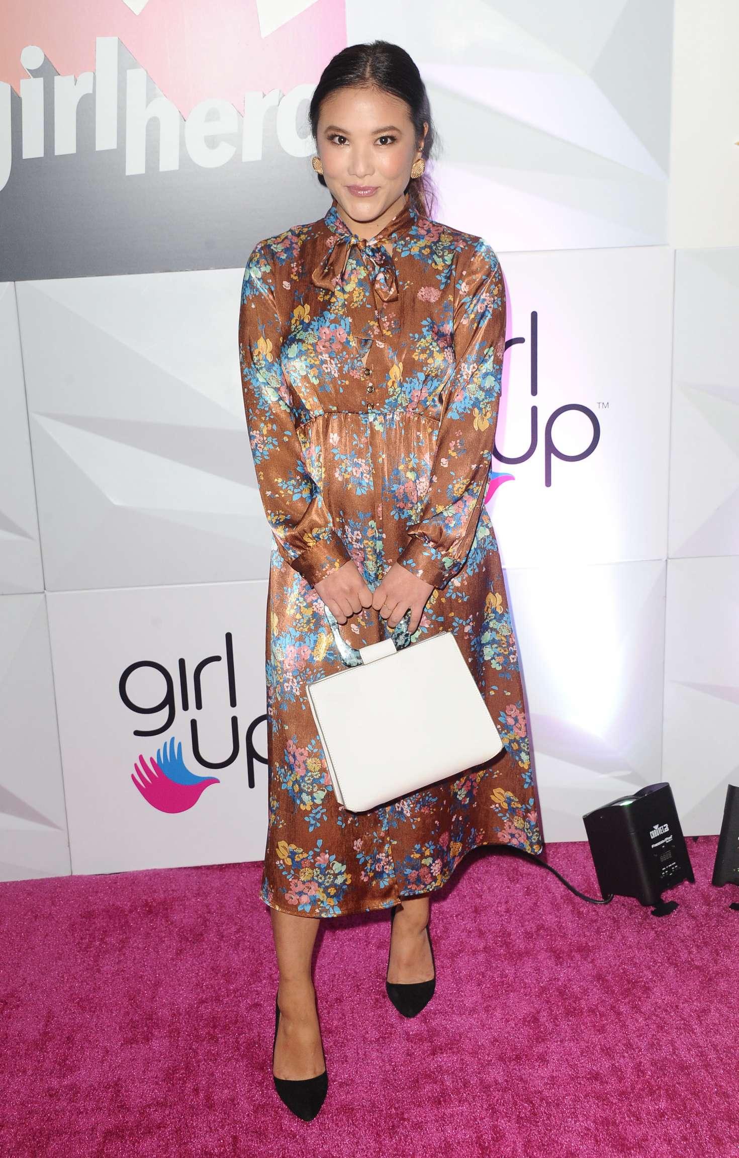 Ally Maki 2018 : Ally Maki: Girl Ups Inaugural GirlHero Awards Luncheon -06