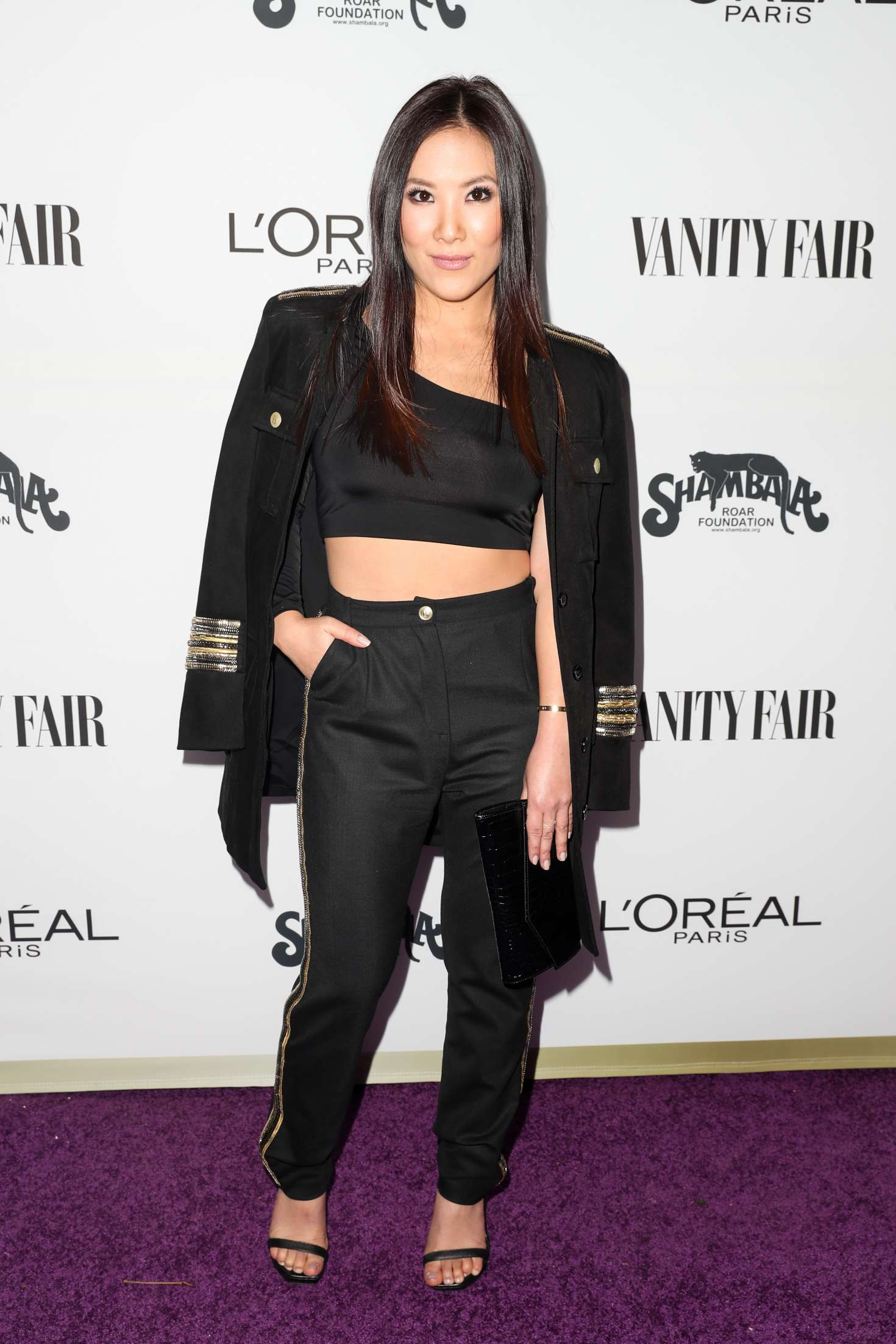 Ally Maki 2017 : Ally Maki: Vanity Fair and LOreal Paris Toast to Young Hollywood -06