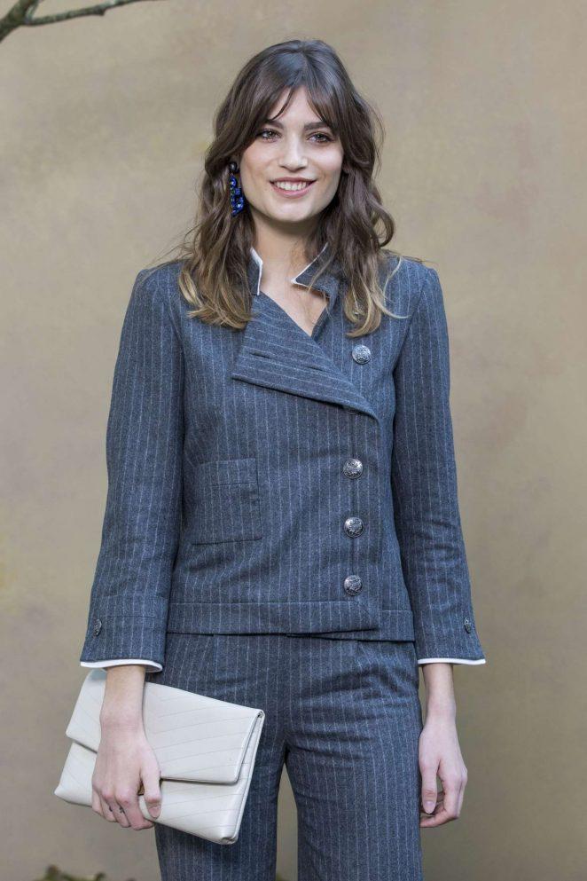 Alma Jodorowsky - Chanel Fashion Show 2018 in Paris