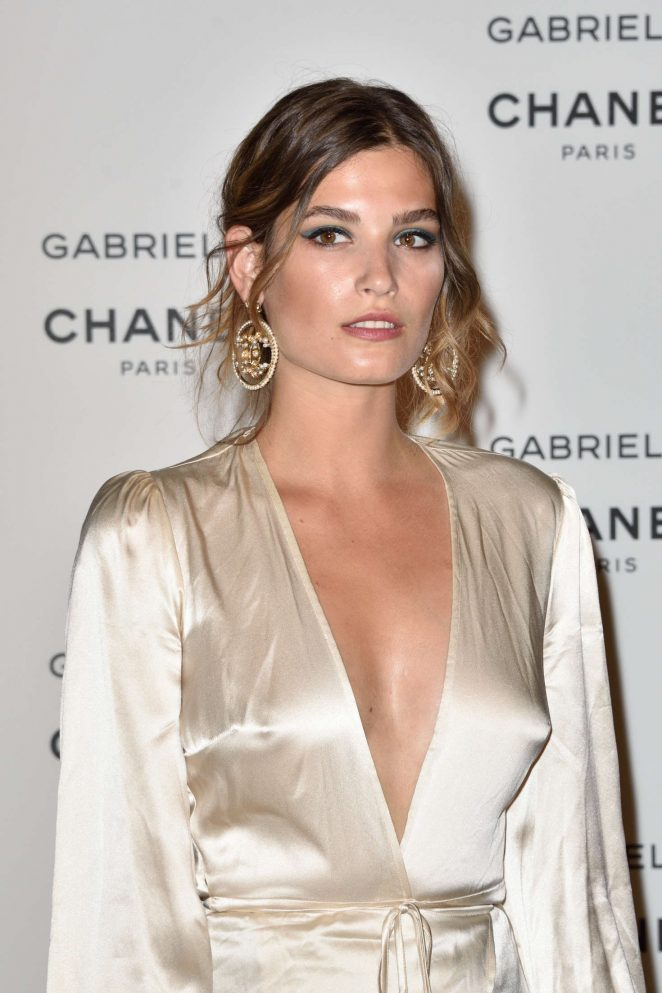 Alma Jodorowsky - Chanel's new perfume 'Gabrielle' Launch Party in Paris