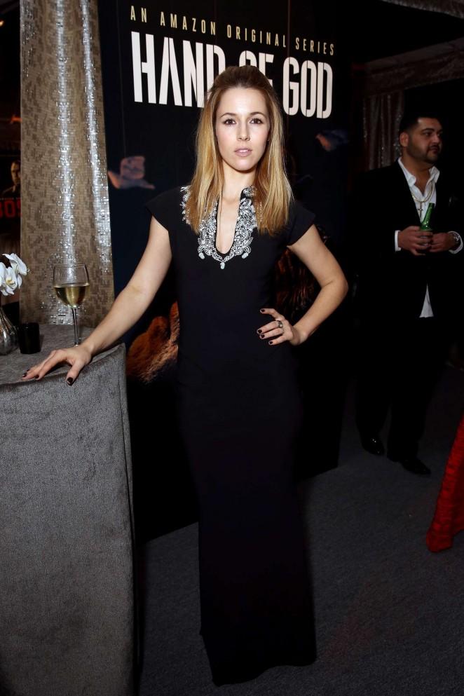 Alona Tal - Amazon Studios Golden Globe Awards Post-Party in Beverly Hills