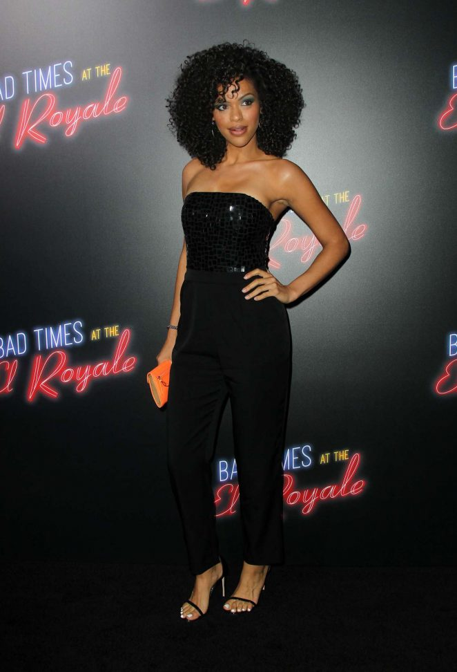 Alvina August - 'Bad Times at the El Royale' Premiere in Los Angeles