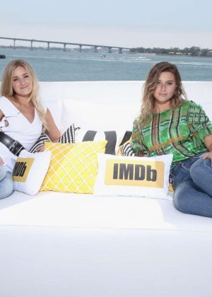 Aly and AJ Michalka - IMDboat At San Diego Comic-Con 2017