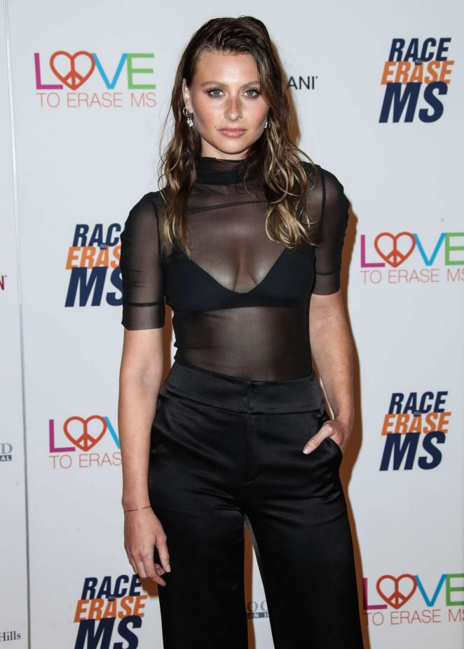Aly Michalka - 2018 Race to Erase MS Gala in Los Angeles