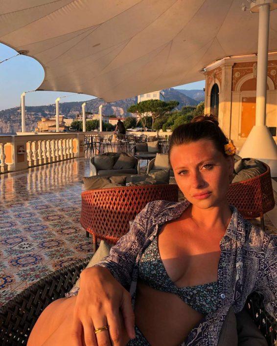 Aly Michalka in Bikini - Personal