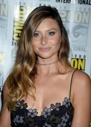 Aly Michalka - 'IZombie' Press Line at Comic-Con International in San Diego