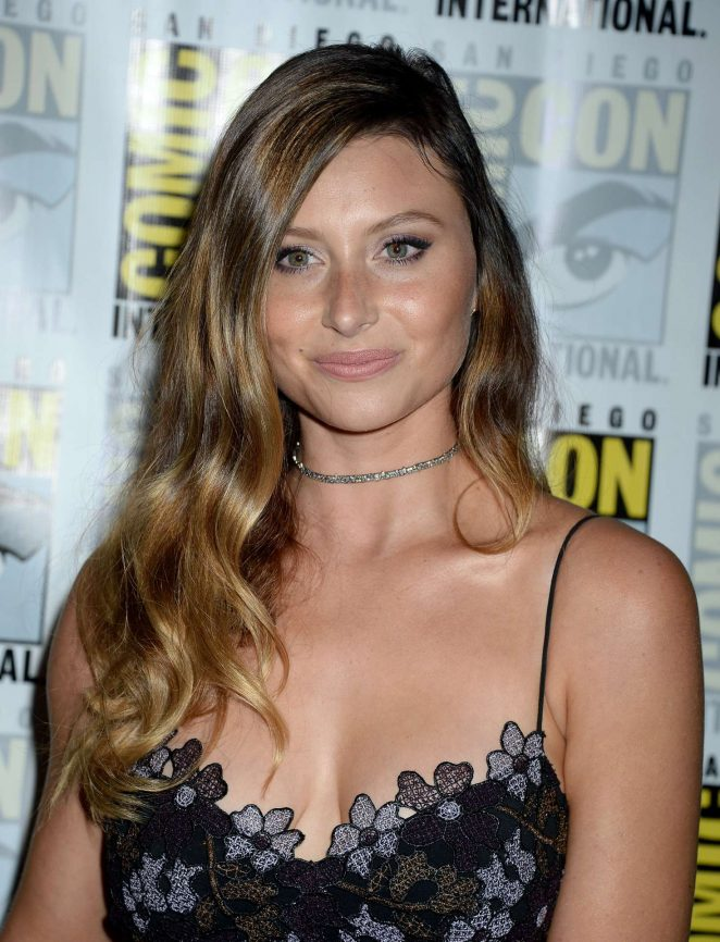 Aly Michalka – 'IZombie' Press Line at Comic-Con International in San Diego