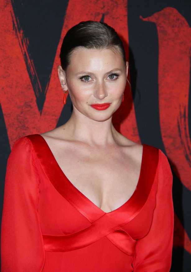 Aly Michalka - 'Mulan' Premiere in Hollywood