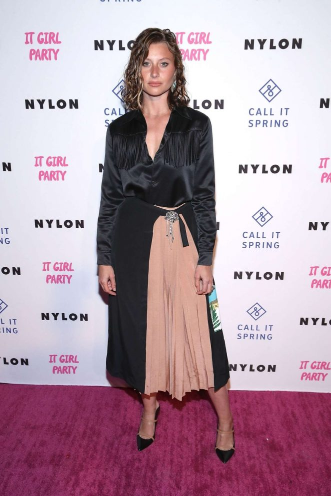 Aly Michalka – NYLON's Annual It Girl Party in Los Angeles
