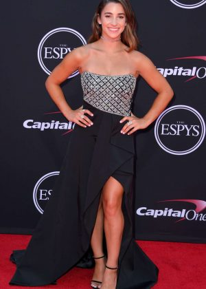 Aly Raisman - 2017 ESPY Awards in Los Angeles