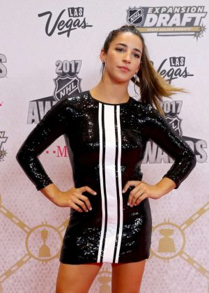 Aly Raisman - 2017 NHL Awards in Las Vegas
